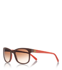 SQUARE GLAM LOGO TEMPLE | 203 | Women's Acetate Sunglasses