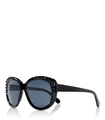Crystal Cat-Eye Sunglasses