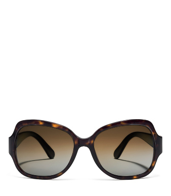 Purple Tory Burch Butterfly Sunglasses