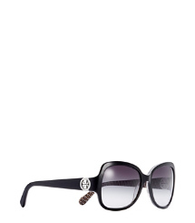 Black Tory Burch Butterfly Sunglasses
