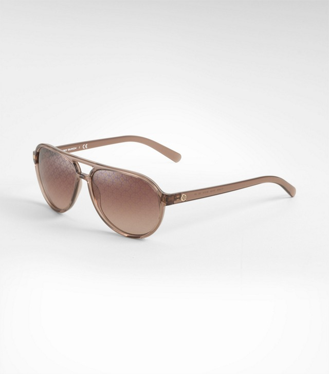 Rounded Aviator Sunglasses
