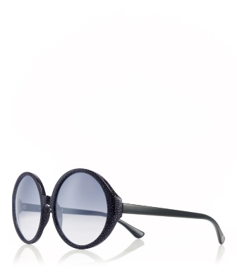 10831160 Grey Tory Burch Oversized Print Sunglasses