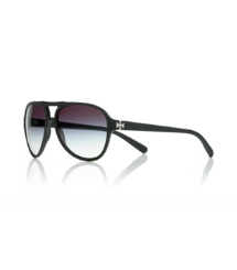 Soft Black/grey Grad Tory Burch Pilot Sunglasses