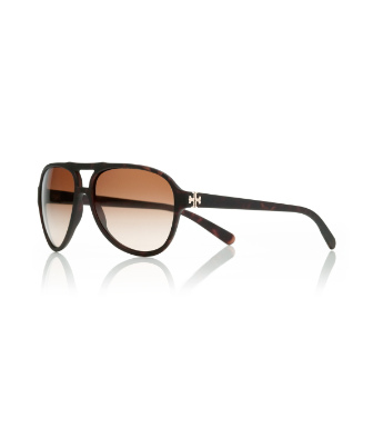 Soft Tortoise/brown Tory Burch Pilot Sunglasses