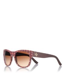 Orange Tory Burch Magpie Sunglasses