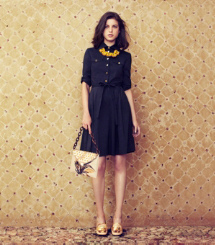 Tory Burch The Navy Shirtdress