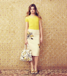 Tory Burch Embroidered Wheat: Rustic Meets Refined