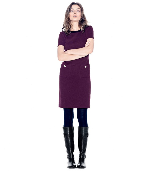 THE RIDING BOOT + SHORT DRESS