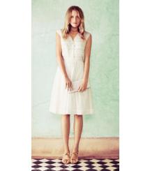 Tory Burch The Little White Dress: Soft + Floaty