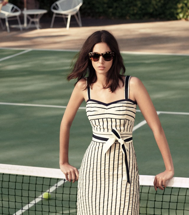 The Striped Sundress
