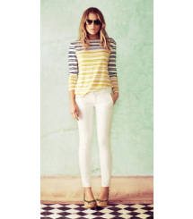 Tory Burch Stripes, Meet Whites