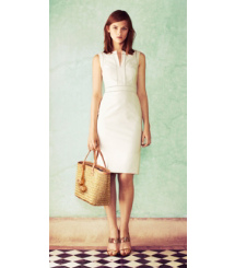 Tory Burch The Little White Dress: Tailored + Sleek