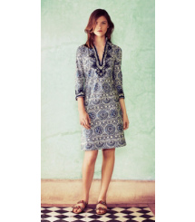Tory Burch The Tilework Tunic Dress
