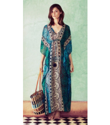 Tory Burch The Long Caftan: Vintage Glamour