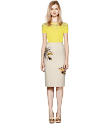 Tory Burch The Wheat-embroidered Pencil