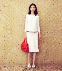 Tory Burch White + Brights