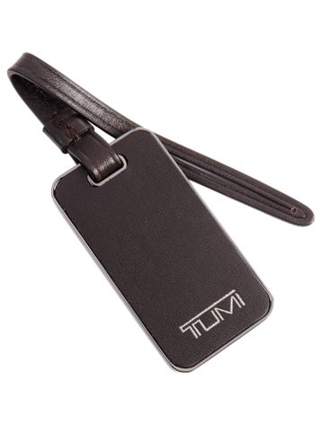 Luggage Tag Side View