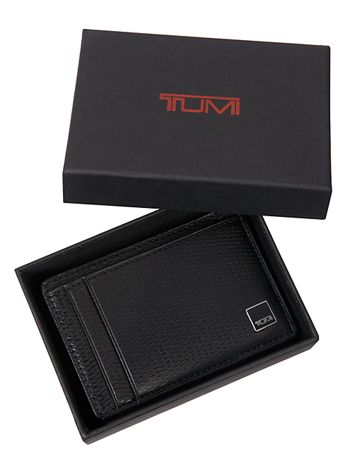 Money Clip Card Case Side View