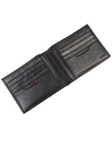 Global Double Billfold Side View