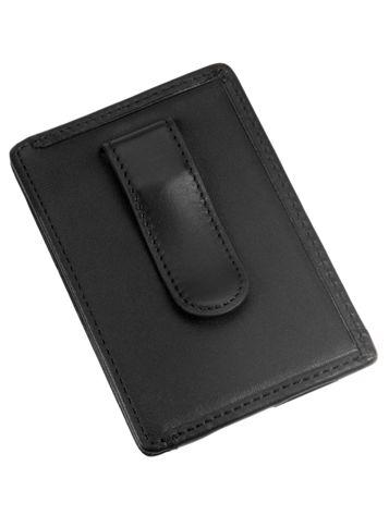 Money Clip Card Case Side View