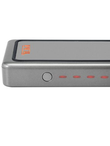 5,000 mAh Mobile Power Pack Side View