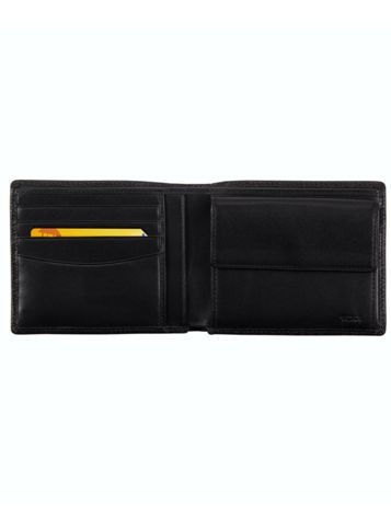 Global Wallet with Coin Pocket Side View