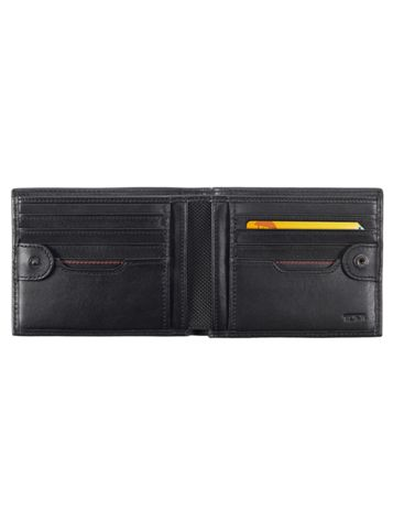 Global Double Billfold with Snap Side View