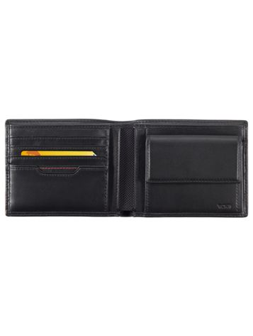 Global Coin Wallet in Black Side View