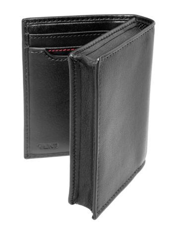 Gusseted Card Case ID Side View