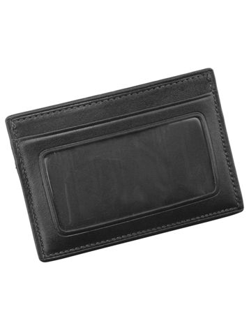 Slim Card Case ID Side View