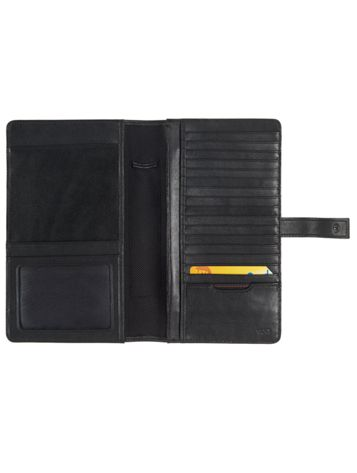Ultimate Travel Organizer in Black Side View