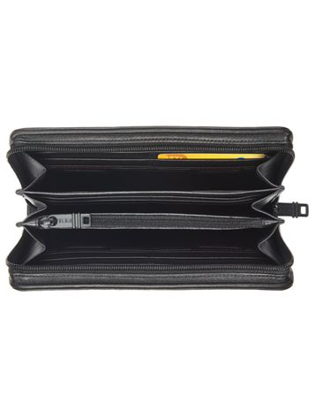 Zip-Around Travel Wallet Side View