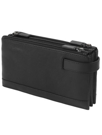 Triple Zip Clutch Side View