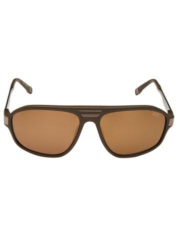 Bassano Sunglasses in Brown Side View