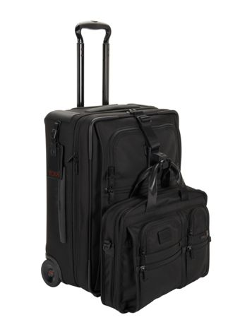 Continental Expandable 2 Wheeled Carry-On Side View