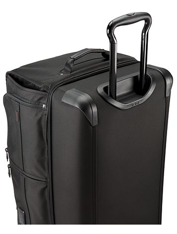 Large Wheeled Split Duffel Side View