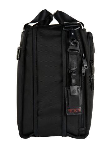 Medium Travel Tote in Black Side View