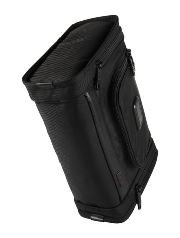 Hanging Travel Kit in Black Side View
