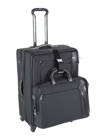 Camden 4 Wheeled Expandable Long Trip Side View