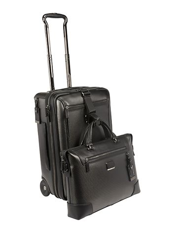 Carbon Fiber Silverstone International Carry-On Side View