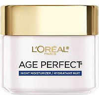 L'OrealAnti-Sagging and Ultra Hydrating Night Cream with Dermo-Peptide