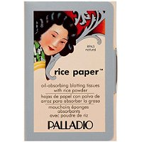 PalladioOil Absorbing Rice Paper Tissues with Rice Powder