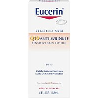 EucerinQ10 Anti-Wrinkle Sensitive Skin Lotion