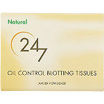 24/7 Oil Control Blotting Tissues - 65 ct