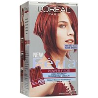 L'OrealFeria Power Reds Hair Color