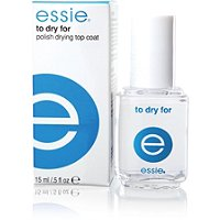 Essie To Dry For Top Coat, Essie top coat, top coat, topcoat, Essie topcoat