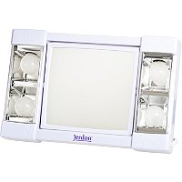 JerdonLighted Table Top Makeup Mirror