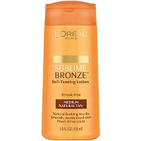 L'OrealSublime Bronze Self Tanning Lotion SPF 15