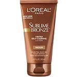 L'OrealSublime Bronze Tinted Self Tanning Lotion
