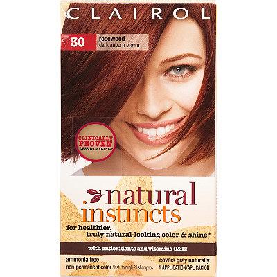 Clairol Natural Instincts Haircolor Rosewood Dark Auburn Brown 30 2015 ...